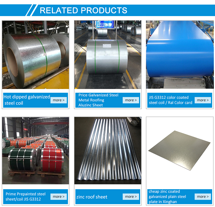 Hot dipped galvanized steel coil technical process