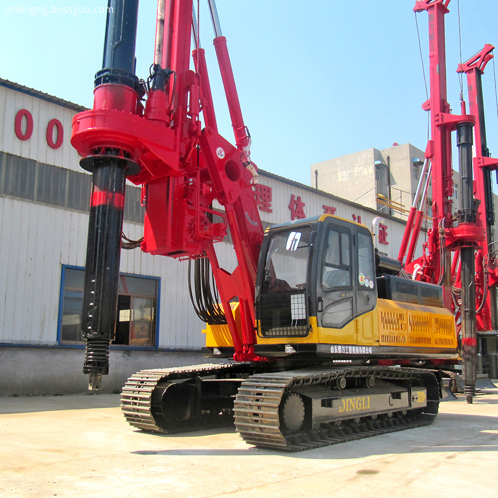 Hole Drilling Rig Machine