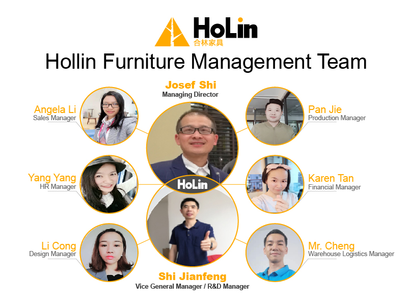 Hollin Furniture management team