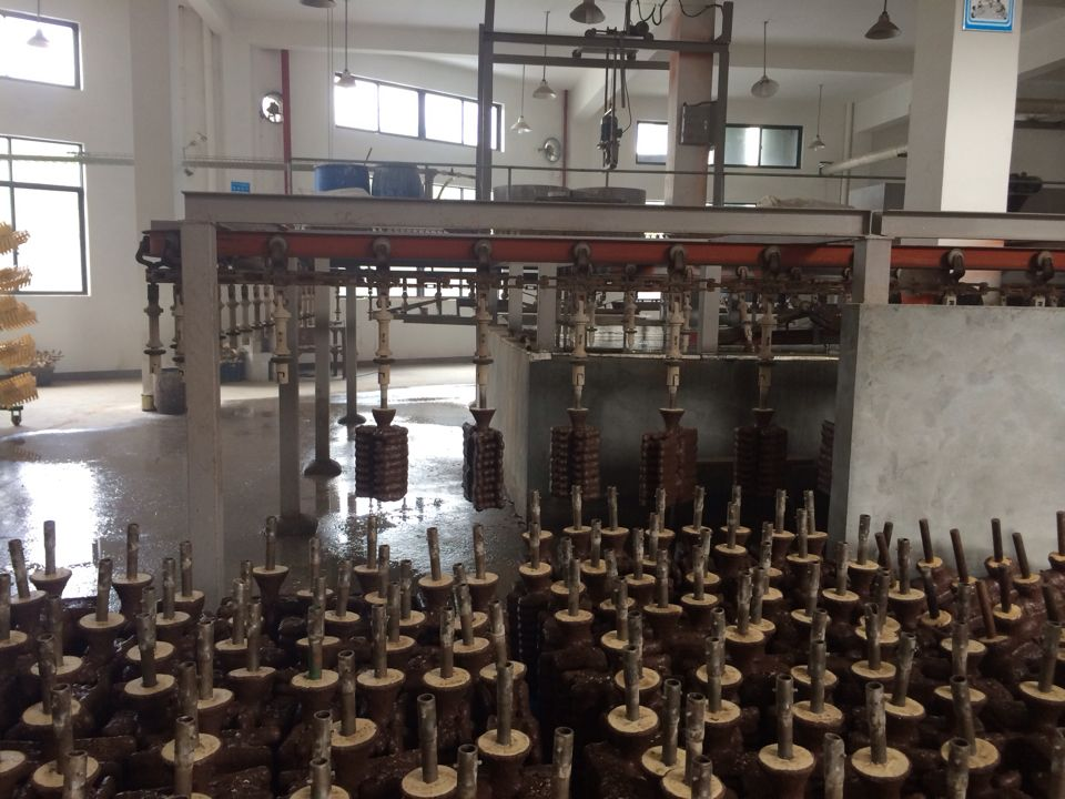 Automatic investment casting production line1
