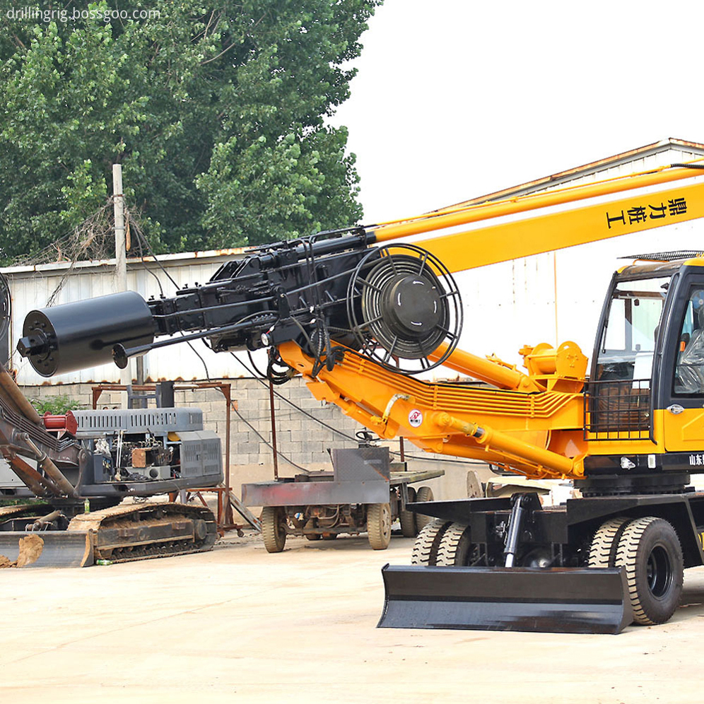 Geotechnical Drill Rig Machine