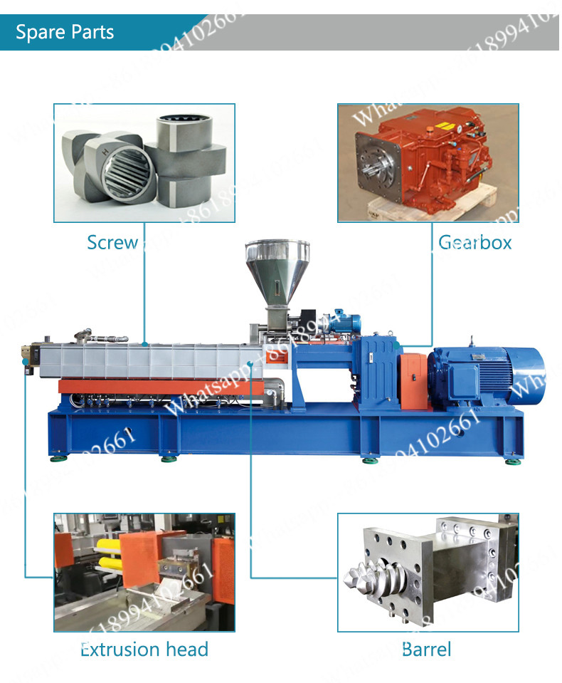 Twin Screw Extruder Screw Design
