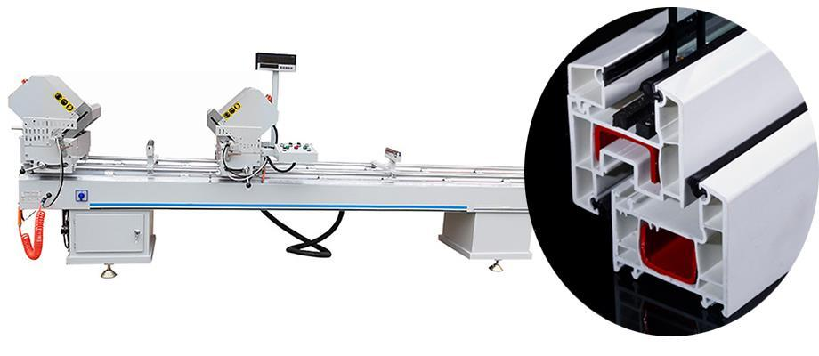 two head cutting machine with cheap price