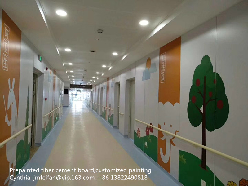 Design painting fiber cement board