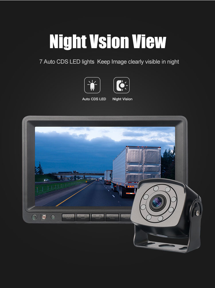 Reverse Backup Vehicle Wifi Rearview Car Monitor for bus and truck wireless reversing camera  Parking car wifi camera