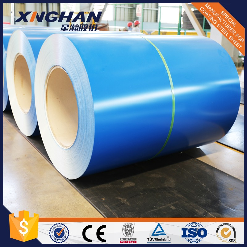 Polyester colored steel coils