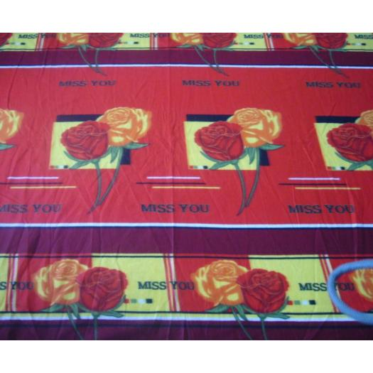 100% Polyester prined bright color porlar Fleece Blanket