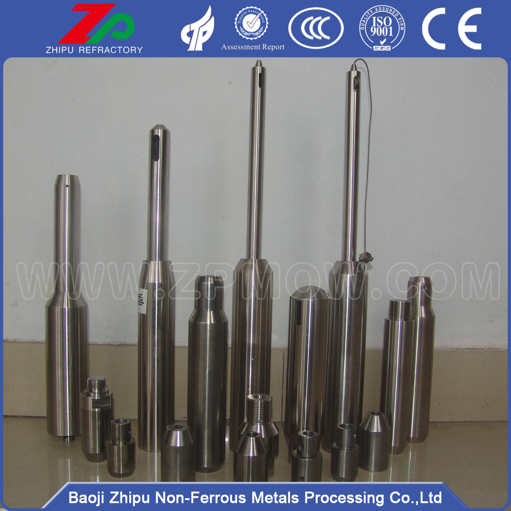 Heavy molybdenum hammer for single crystal furnace