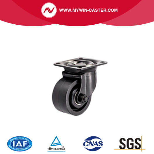 Top Sale 3 Inch Wheel Low Gravity Black Nylon Casters