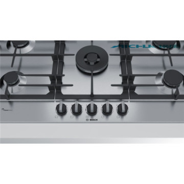 Bosch Built In 5 Burners Gas Hob