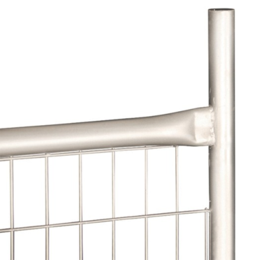 Square Tube Hot dipped Galvanized Construction Temporary Fence