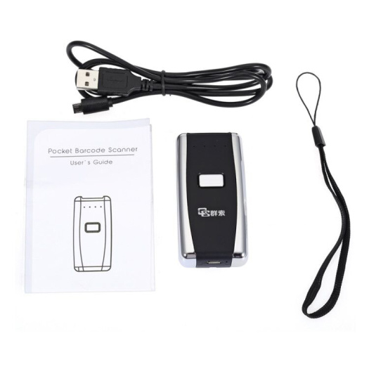 HID/SPP/BLE Wireless Mini Bluetooth Barcode Scanner