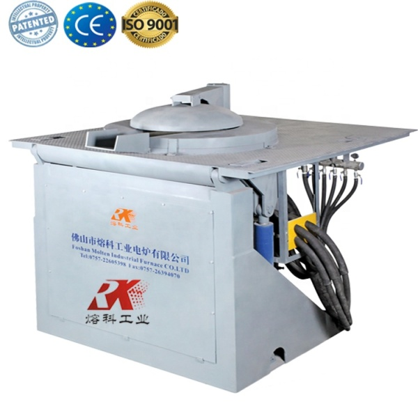 Industrial cast iron furnace aluminum melting furnace