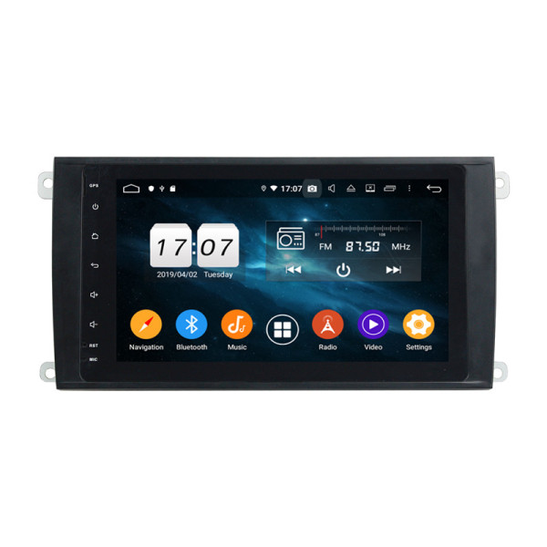 car radio with gps for Cayenne 2006-2010