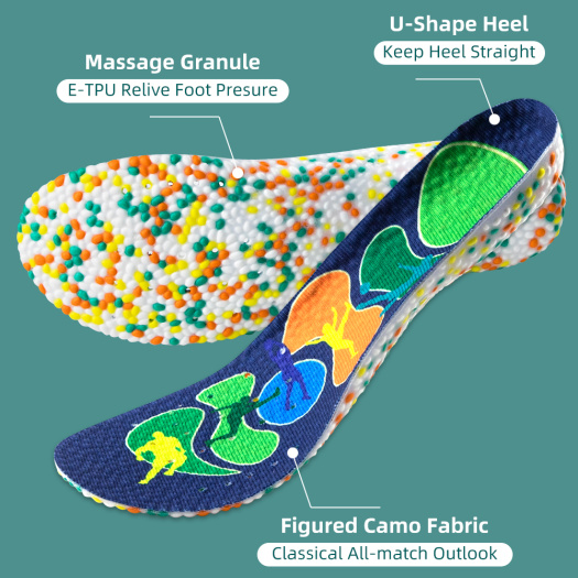 breathable soft sport shoe insole Walk foot Pad