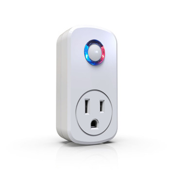 Remote control socket with RF control