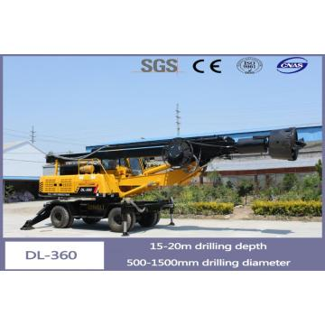 DL-360 20 meter wheeled drilling rig