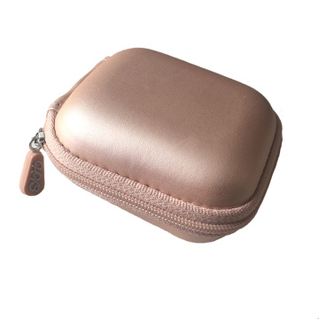 New travel pu storage earphone case with Zipper