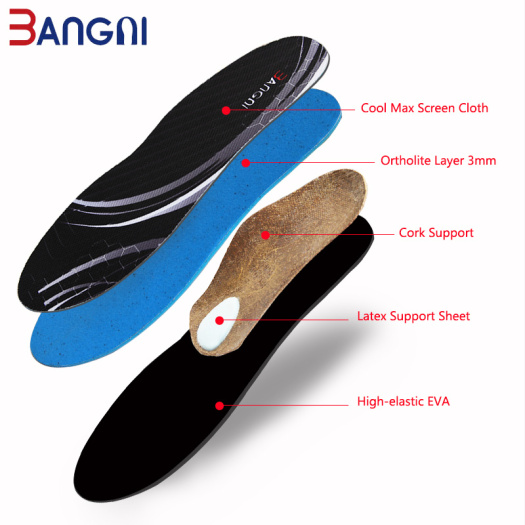 Full length Flat feet insoles arch support orthotic