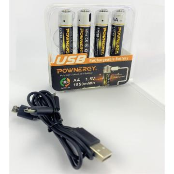 Lithium Ion AA Battery Fast Charger