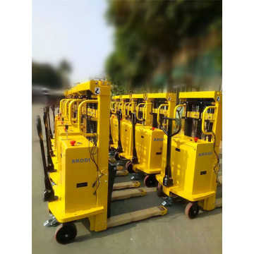 Heavy Duty Semi-electric Stacker 3 Ton