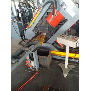 CNC Angle Channel band Steel Punching  Line