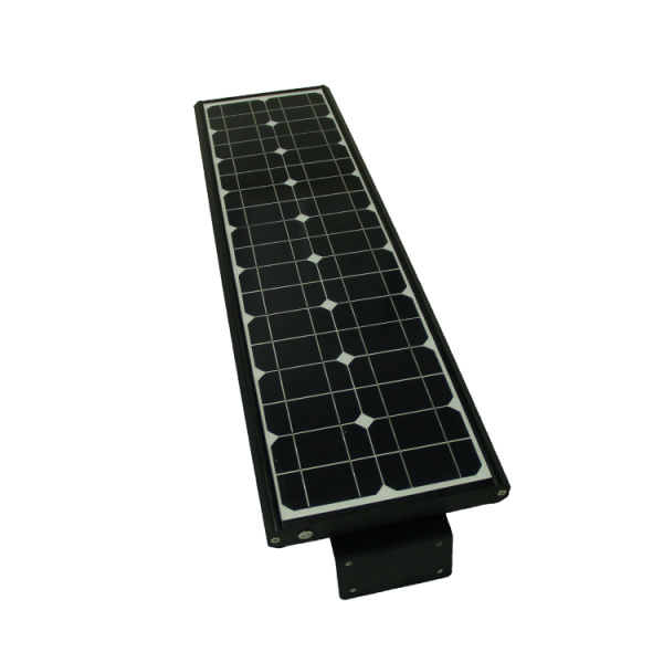 All in one solar 80w led street light