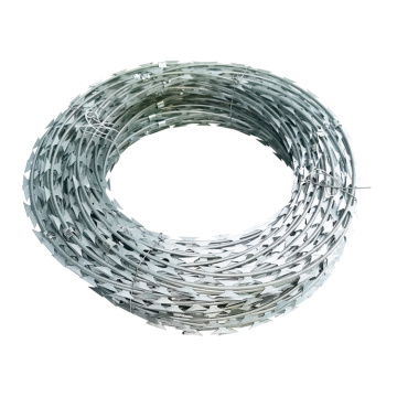 Iron Wire Material Anti-rust razor blade barbed wire
