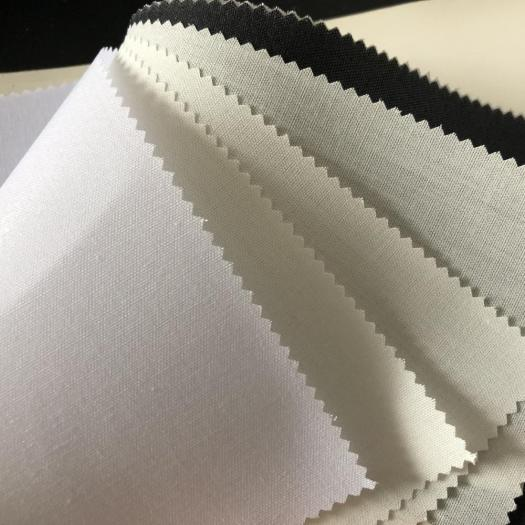 Factory supply 100%cotton shirt fusible woven interlining