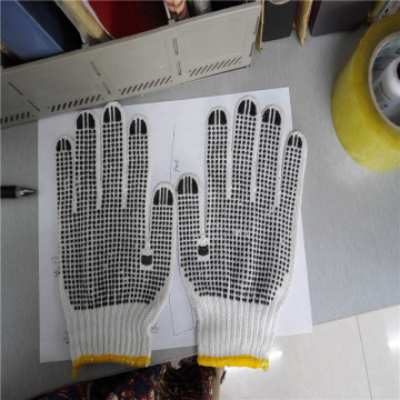 Industrial String Knitted Polycotton Gloves