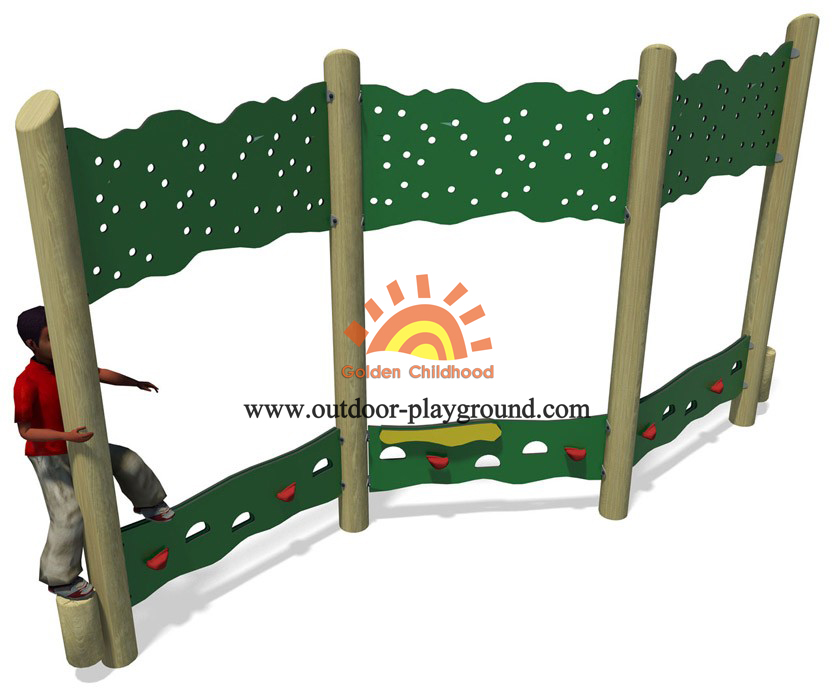 panel climbing walls playground structure