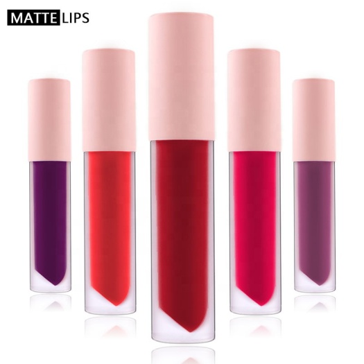 long lasting matte lip gloss private label lipstick