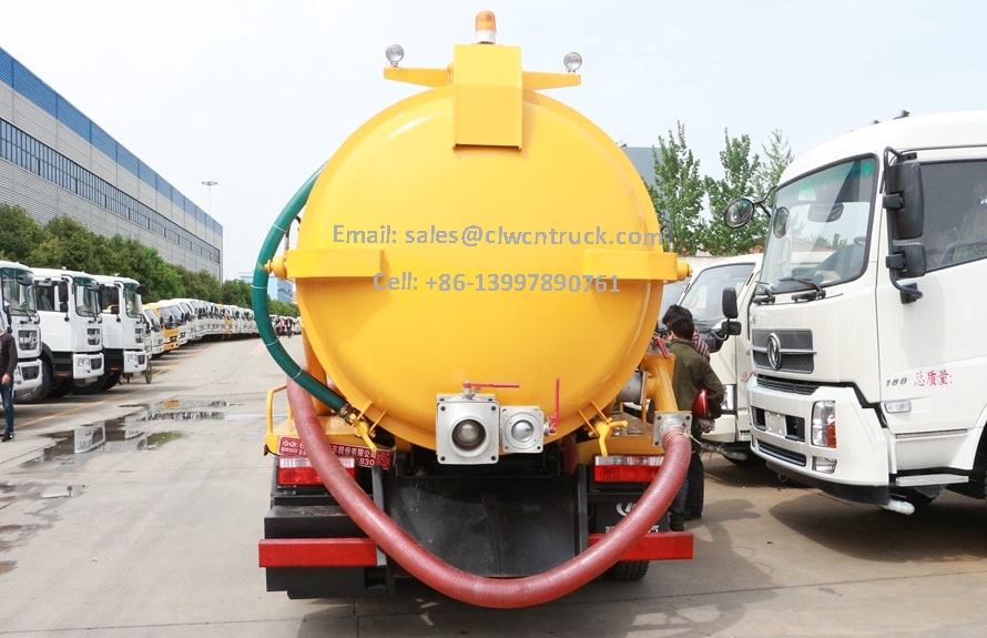 Waste Suction Truck Images
