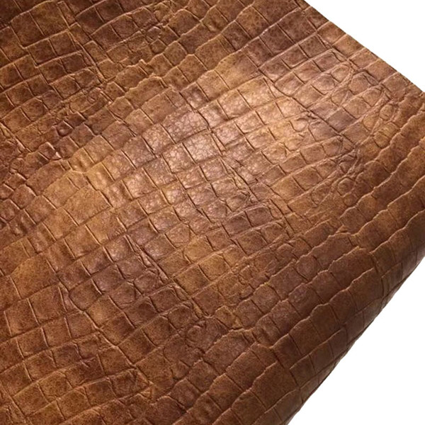 Semi PU Embossed Leather For Bag