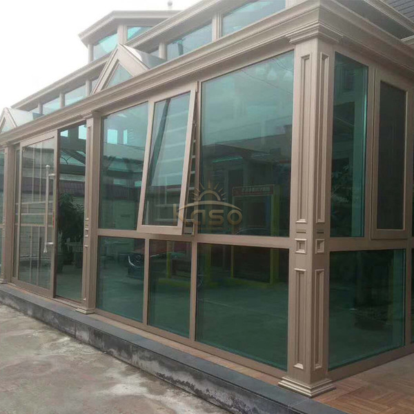 Venlo Glasshouse Upvc Sun House Used Sunroom