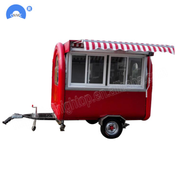 Customized Multifunction Food Truck Trailer Mobile Type