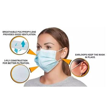 Disposable Mask BFE 95%MIN