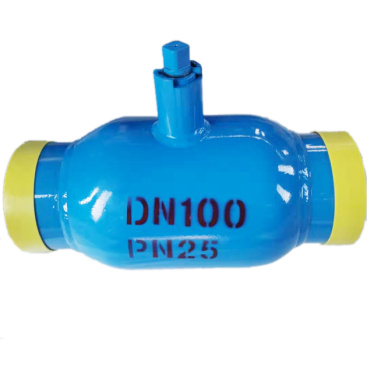 Fully welded ball valve for sales