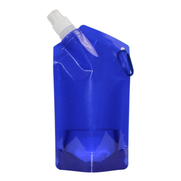 Custom Printed 500ml foldable water bottle
