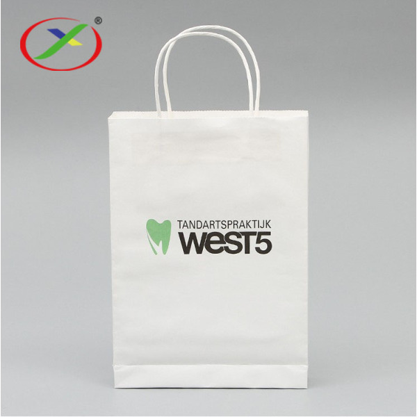 Accept OEM Custom Luxury kraft paper bag