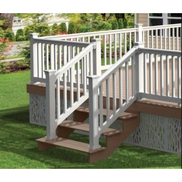 aluminum Tubular Outdoor Balcony Stair Railing Fence