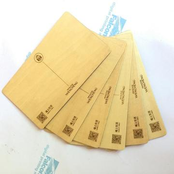 Exquisite Bamboo Business Card
