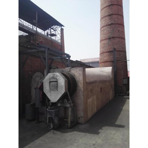 rotary continuous sawdust/rice husk