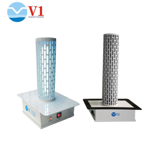 Germicidal UV Light for HVAC System