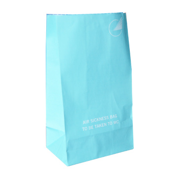 airline white kraft paper sickness bag