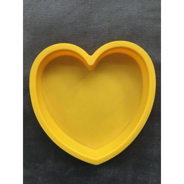 Heart-shaped creative silicone baking cake bread molds