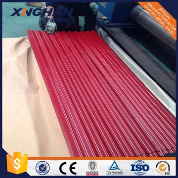 Prime Prepainted Galvanized Corrugated Steel Sheet