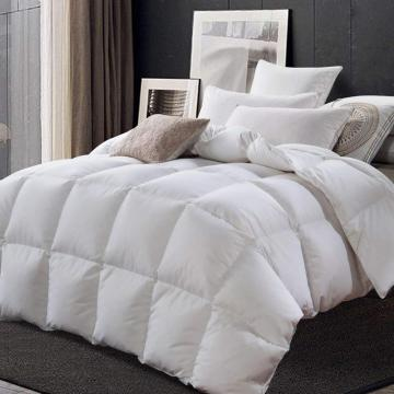 All Season Down Comforter Solid Lightweight Hypoallergenic