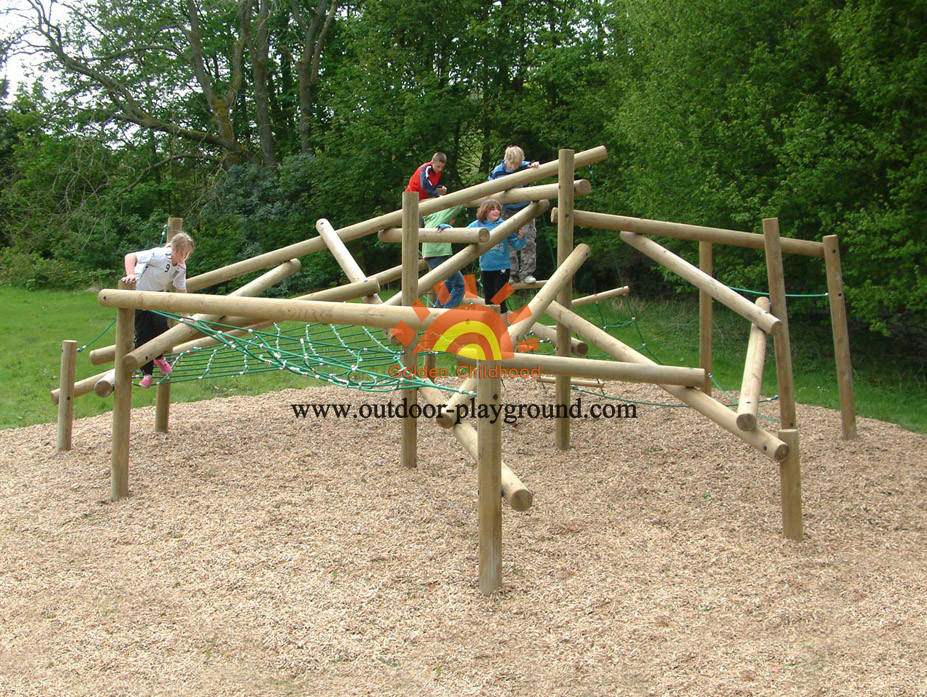 children's climbing outdoor playground for park