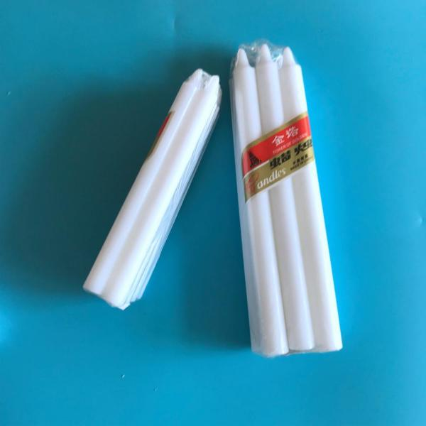 Nigeria Market Cheap Large Wax White Candle